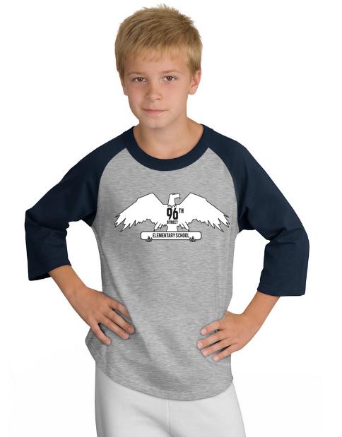 Imprinted 96th Elem School tshirt