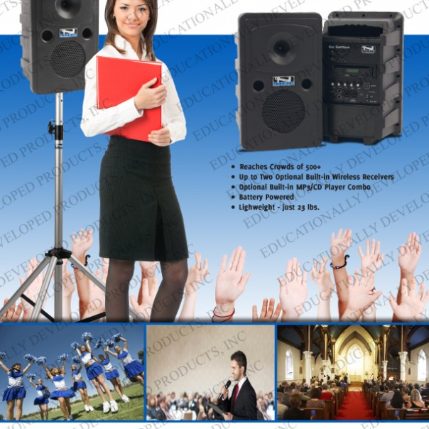EDP, Anchor Audio, Portable Audio, PA-Systems