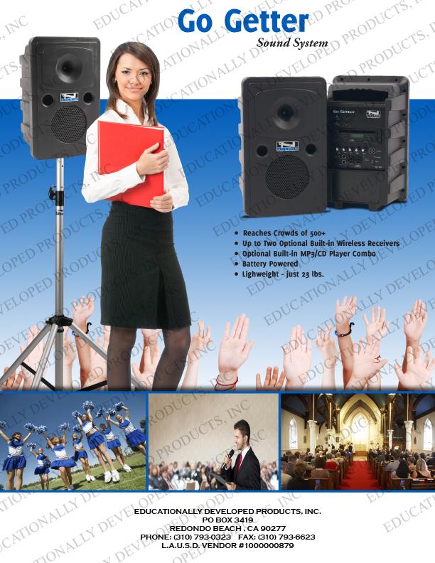 EDP, Anchor Audio, Portable Audio, PA-Systems