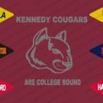 Kennedy Cougars Are College Bound