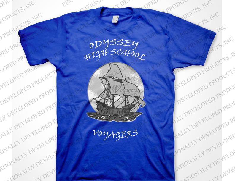Odyssey High School Customized T-Shirt