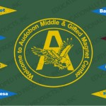 Welcome to Audobon Middle & Gifted Magnet Center Customized School Mat