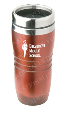 Belvedere Middle School Customized Tumbler Mugs by Educationally Developed Products, Inc