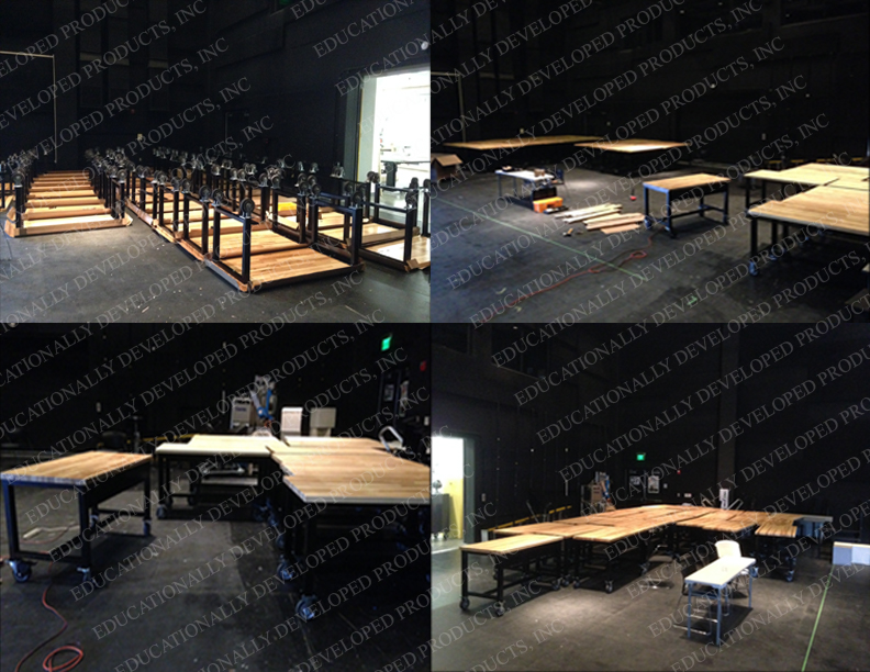 DMark Workbench Assembly Line by Educationally Developed Products, Inc