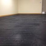 Customized Weight Flooring or Multi-Purpose Flooring by EDP, for Esteban Torres High School