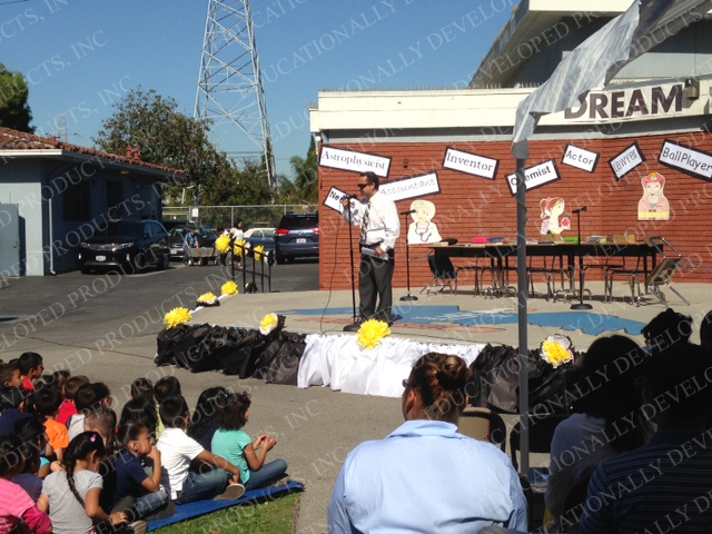EDP always participating within the LAUSD Community - Career Day at 96th Elementary School